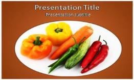 Vegetables Free Powerpoint Template