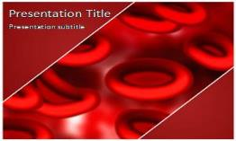 Blood Cells Free Powerpoint Template