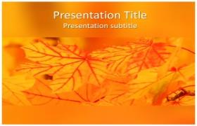 Free Nature Abstract PowerPoint Template