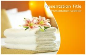 Free SPA PowerPoint Template