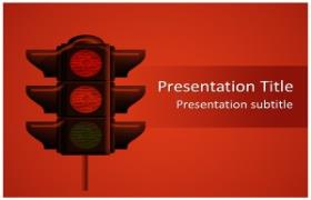 Free Traffic Lights PowerPoint Template
