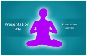 Free Yoga PowerPoint Template