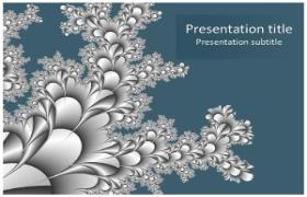 Free Blue Abstract PowerPoint Template
