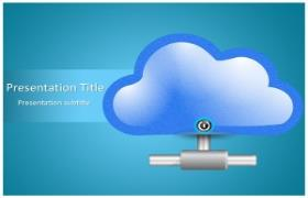 Free Cloud Computing PowerPoint Template