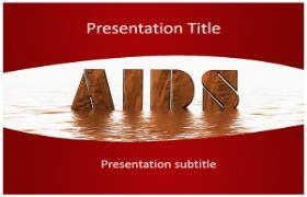 Free Aids PowerPoint Template