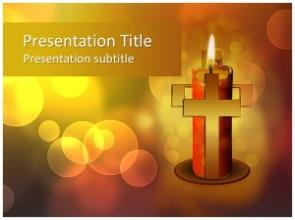 Good Friday Free PowerPoint Template