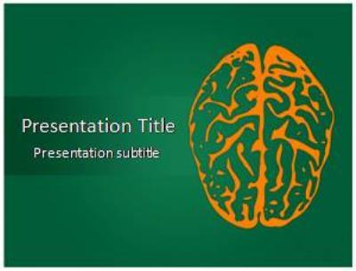 Brain Free PowerPoint Template