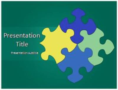 Puzzle Free PowerPoint Template