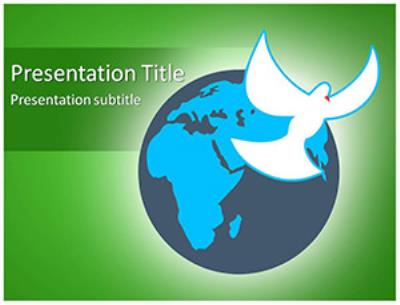 Global Peace Free PowerPoint Template
