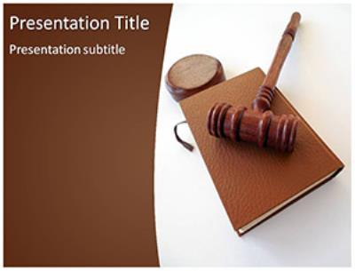 Law Rules Free PowerPoint Template