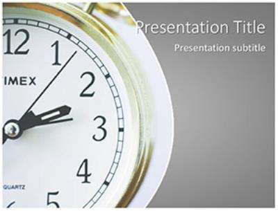 Time Management Free PowerPoint Template