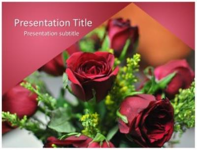 Rose Free PowerPoint Template