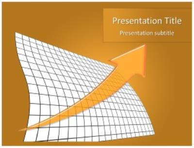 Statistics and Graph Free PowerPoint Template