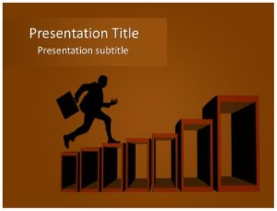 Step to Success Free PowerPoint Template