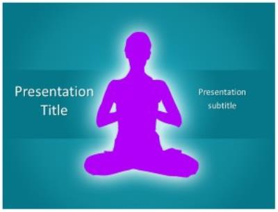Yoga Free PowerPoint Template