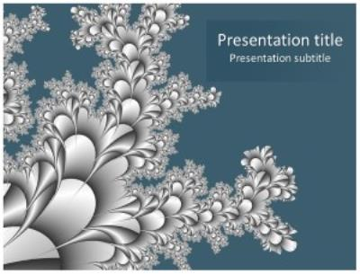 Blue Abstract Free PowerPoint Template