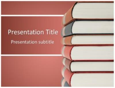 Books Free PowerPoint Template