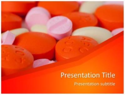 Drugs Medicine Free PowerPoint Template