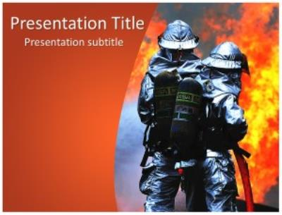 Firefighters Free PowerPoint Template