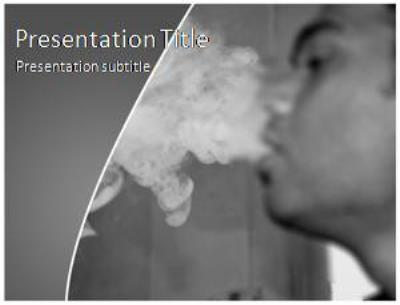 Smoker Free PowerPoint Template