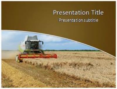 Agriculture Free PowerPoint Template