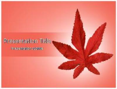 Autumn Free PowerPoint Template