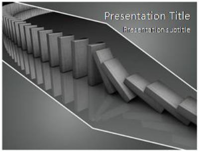 Domino Free PowerPoint Template