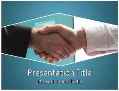 Handshake Free PowerPoint Template