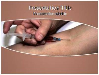 Injecting Free PowerPoint Template