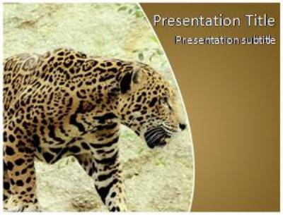 Jaguar Free PowerPoint Template