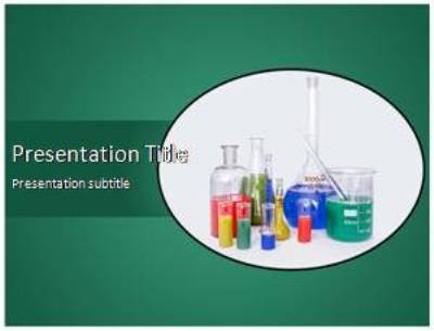 Lab Equipment Free PowerPoint Template