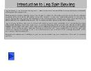 Introduction to Leg Spin Bowling Powerpoint Presentation