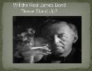 Will the Real James Bond Please Stand Up Powerpoint Presentation