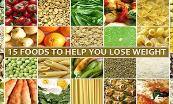 15 Foods To Help You Lose Weight Powerpoint Presentation