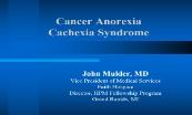 Cancer Anorexia Cachexia Syndrome Powerpoint Presentation