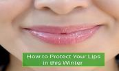 How to Protect Your Lips in this Winter Powerpoint Presentation