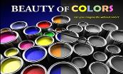 Beauty of Colors Powerpoint Presentation