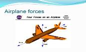 Airplane forces Powerpoint Presentation