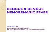 DENGUE HEMORRHAGIC FEVER Powerpoint Presentation
