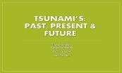 Tsunami Powerpoint Presentation