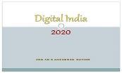 Digital India 2020 Powerpoint Presentation