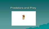 Predators And Prey Powerpoint Presentation