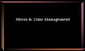 Stress and Time Management Powerpoint Presentation