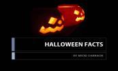 Halloween Facts Powerpoint Presentation