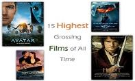 15 Highest Grossing Films of All Time PowerPoint Presentation