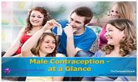 Male Contraception at a glance PowerPoint Presentation