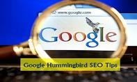 Google Hummingbird SEO Tips PowerPoint Presentation
