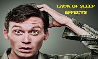 Lack of Sleep Effects PowerPoint Presentation