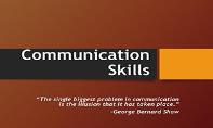 All About Communication Skills PowerPoint Presentation