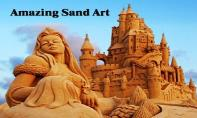 Sand Sculpture Art PowerPoint Presentation
